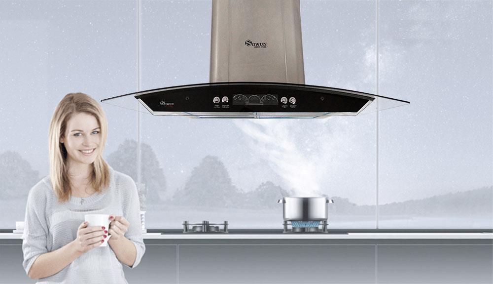 Máy hút mùi nhà bếp Sowun SW 6561S
