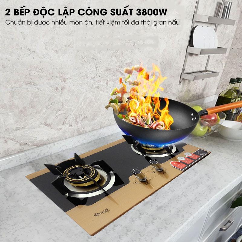 Bếp gas âm Sowun SW 9225 chất lượng