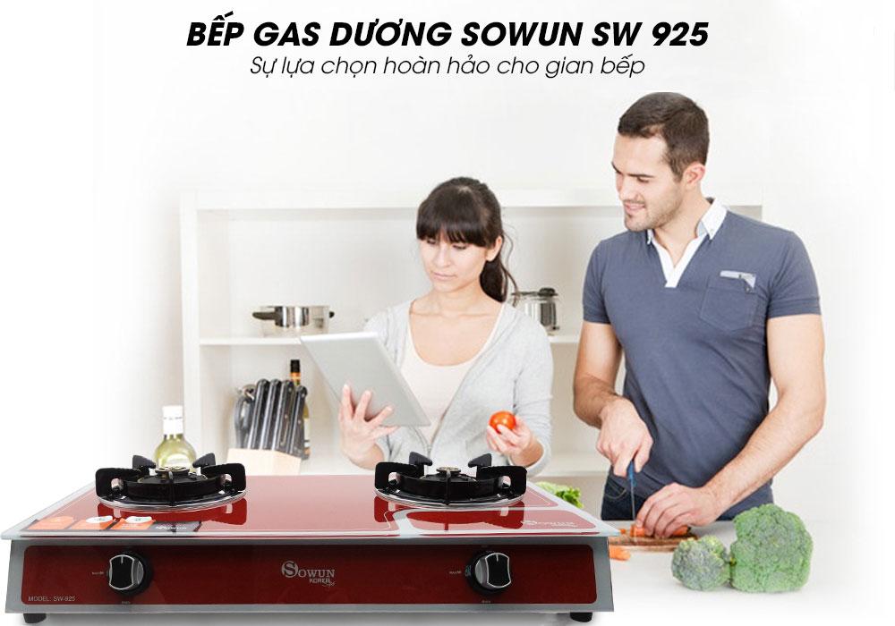 Bếp gas dương Sowun SW 925