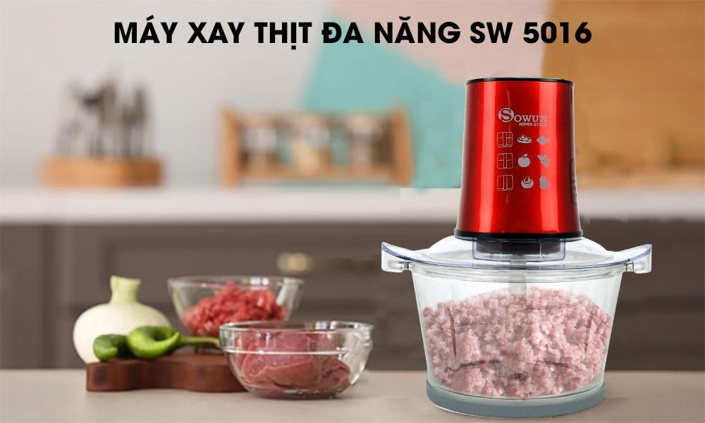 máy xay thịt sowun sw 5016
