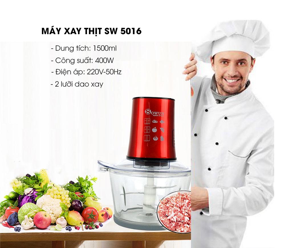 thông số máy xay thịt Sowun SW 5016