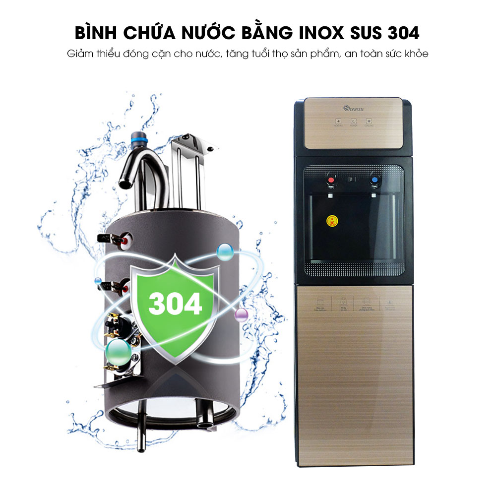 Cây nước nóng lạnh Sowun SW 9969 chất lượng cao